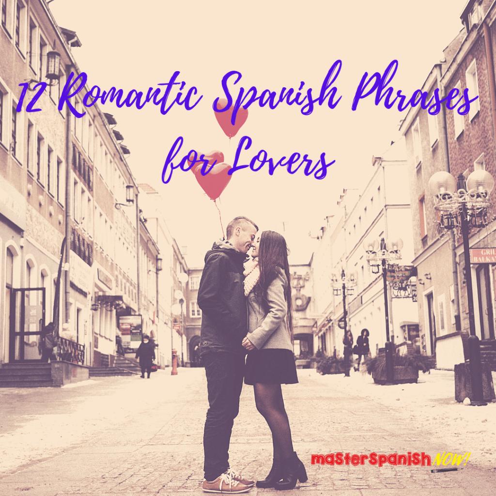 romantic spanish phrase