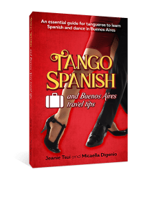 Cover for book Tango Spanish and Buenos Aires Travel Tip